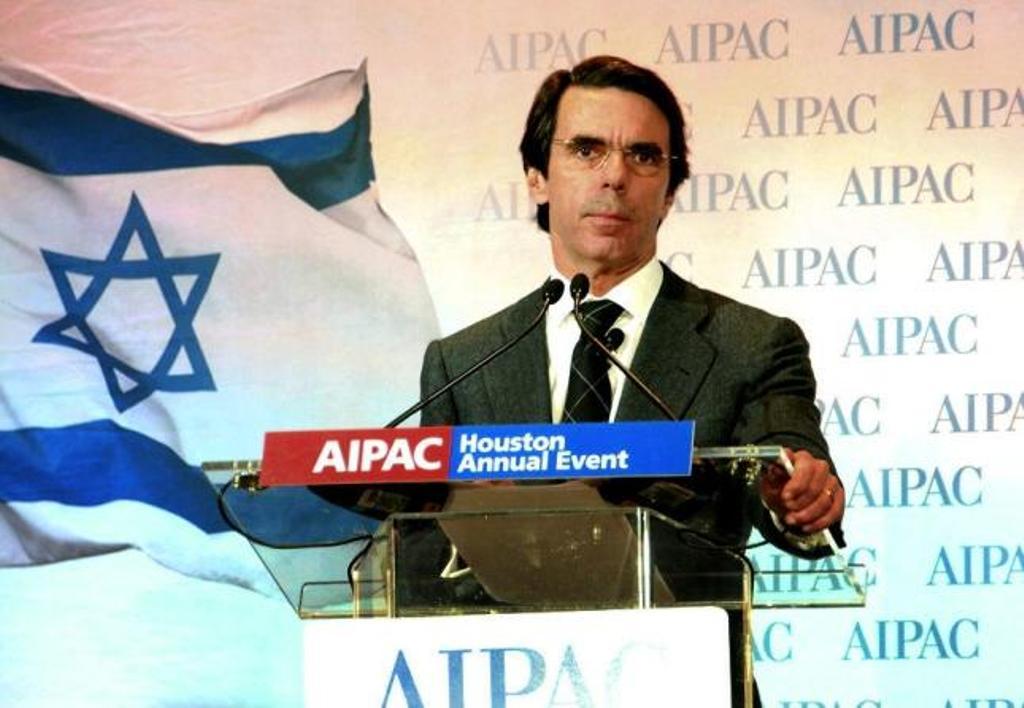 Resultado de imagen de Aznar sionista