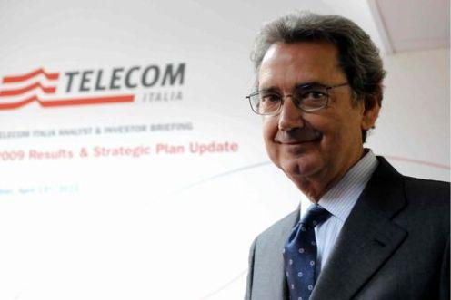 TELECOM: PRESENTAZIONE RISULTATI 2009  CON AD BERNABE'