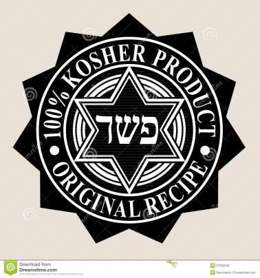 producto-kosher-del-100-sello-original-de-la-receta-27902045