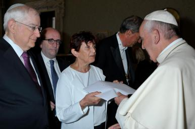 Erika and Pope Francis