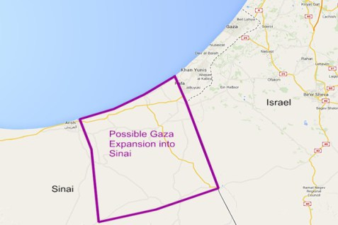 Gaza-Sinai-Expansion
