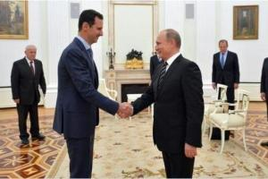 Presidente-sirio-Bashar-al-Assad-realiz-sorpresiva-visita-a-Rusia