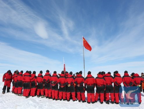 ANTARCTICA-CHINA-ZHONGSHAN STATION-32ND EXPEDITION-INLAND EXPEDITION