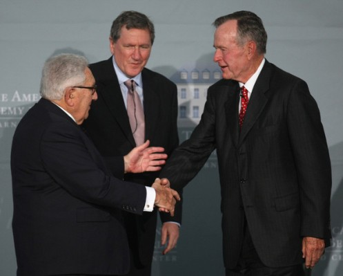 George+Bush+Receives+Henry+Kissinger+Prize+gbvwitw80wQl