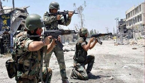 Syrian Army Ground, Air Forces Foil Terrorist Attacks in Aleppo, Destroy ISIS Dens‌