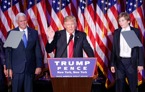 Donald Trump se proclama vencedor de los comicios de Estados Unidos