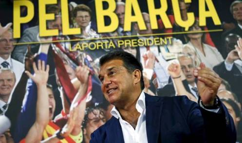 former-barcelona-president-joan-laporta-and-candidate-for-fc-barcelona-s-next-elections-gestures-during-an-interview-in-their-candidature-headquarters-in-barcelona-spain-june-29-2015-laporta-said-he-w