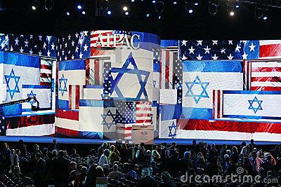 las-banderas-y-los-logotipos-indican-el-obvio-de-que-conferencia-de-la-poltica-de-aipac-son-en-pleno-rendimiento-tanto-como-29718501