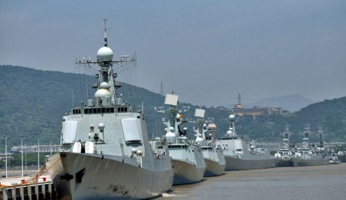 type-052d-and-type-52c-guided-missile-destroyer-china