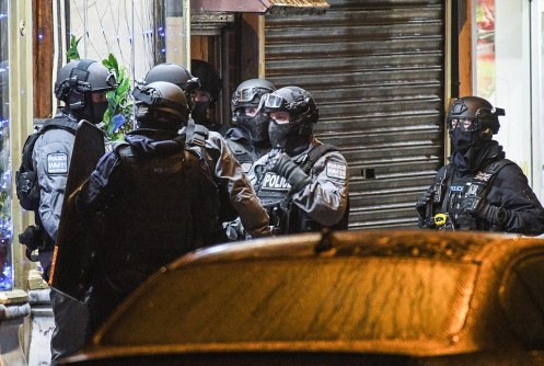 Birmingham armed police terror