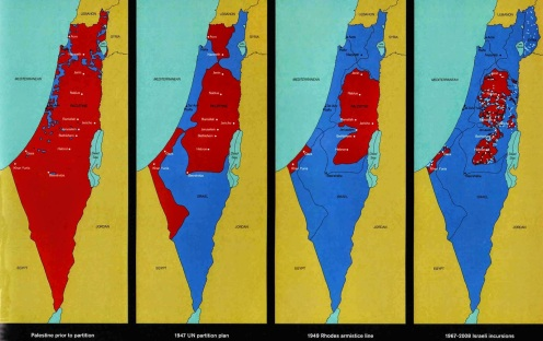 PALESTINE MAP 1 - HAMILTON