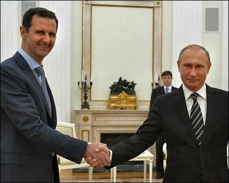 Syrian-president-Bashar-al-Assad-with-Russian-president-Vladimir-Putin-oct-20-2015-Reuters
