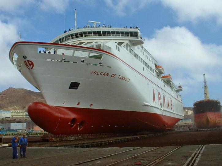 Hackean el ferry volc n de tamasite de la naviera armas for Horario oficina naviera armas las palmas