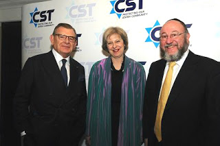0 CST dinner with Gerald Ronson and Chief Rabbi Ephraim Mirvis