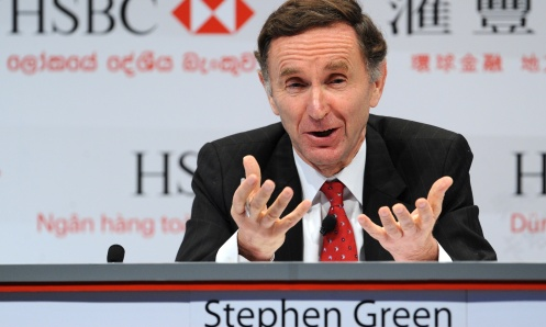 HSBC group chairman Stephen Green attend