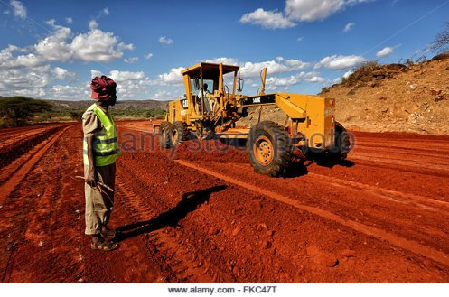 marsabit-5th-mar-2016-construction-machines-work-on-the-turbi-moyale-fkc47t