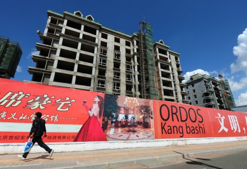 CHINA-PROPERTY-CONSTRUCTION-ORDOS