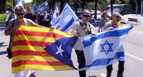 bandera-israel-cataluña-
