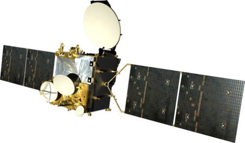 AMOS 3 communications satellite