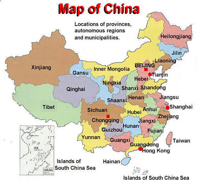 ChinaProvinces