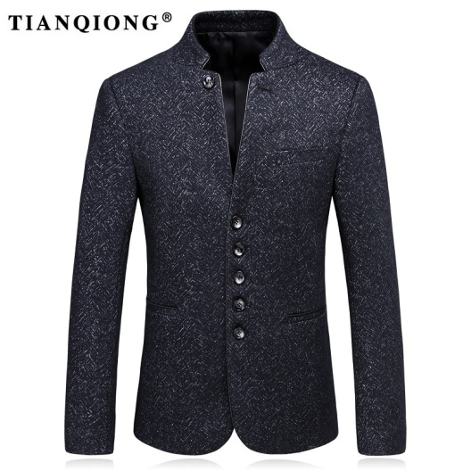TIAN-QIONG-Men-Blazer-Designs-2017-Black-Stand-Collar-Blazers-for-Men-Slim-Fit-Mens-Wool