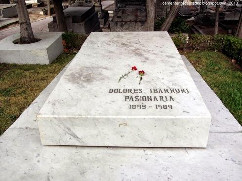 Doloresibarruri_cementeriosdemadrid