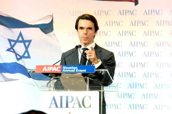 Image result for aznar aipac