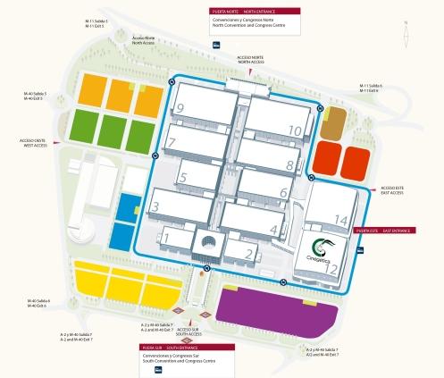Mapa Recinto A4