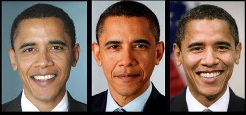 BarackObamaDifferentFaces