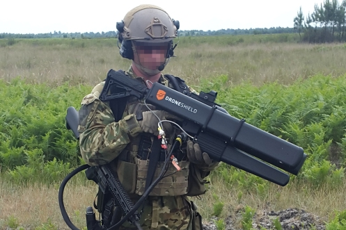 DroneGun - French militaryAB