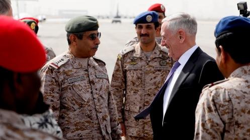 Saudi Arabia US Mattis