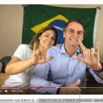 Jair Bolsonaro, otra ficción judía satánica. Bolsonaro entregará el voto de Brasil en MERCOSUR a Israel.