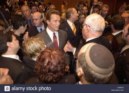 Governor Schwarzenegger Visits Israel