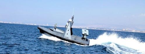Israel pone a prueba su dron marino debe preocuparse Irán (vídeo)_1.