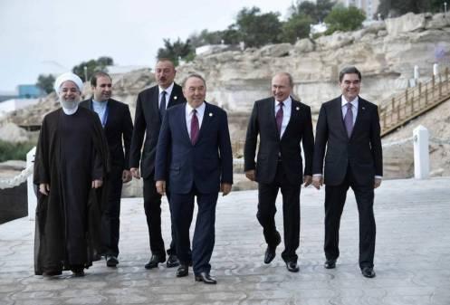 iranian-president-hassan-rouhani-azeri-president-ilham-aliyev-kazakh-president-nursultan-nazarbayev-russian-president-vladimir-putin-and-turkmen-president-kurbanguly-berdymukhamedov-walk