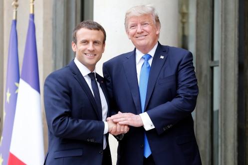 ¿Qué se juega Francia diciendo sí al oleoducto participado por Rothschild y en contra de ARAMCO de los Morgan y Rockefeller?. Francia cogida por las pelotas, nunca mejor dicho y sin capacidad de negociar.