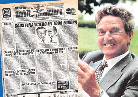 George Soros prepara un golpe mortal al Bono español (un miércoles negro que acabará con la colocación de Deuda con el aumento de la Prima de Riesgo), como el ataque que hizo a la libra en septiembre del 1992.
