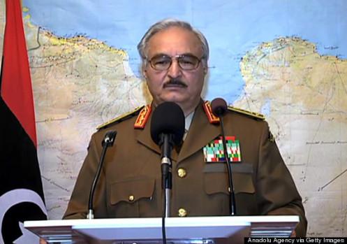 Military coup initiative in Libya