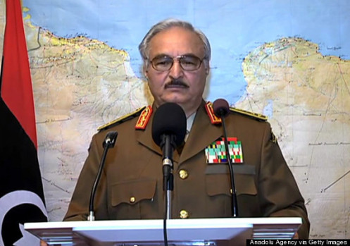 Military coup initiative in Libya